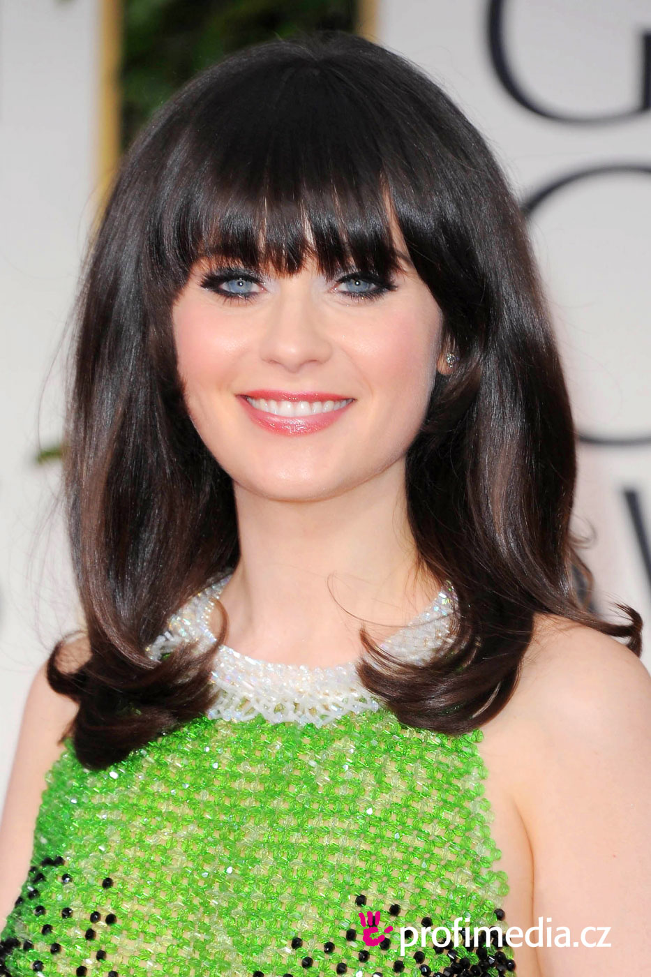 Hairstyles Zooey Deschanel : Prom hairstyle - Zooey Deschanel - Zooey Deschanel