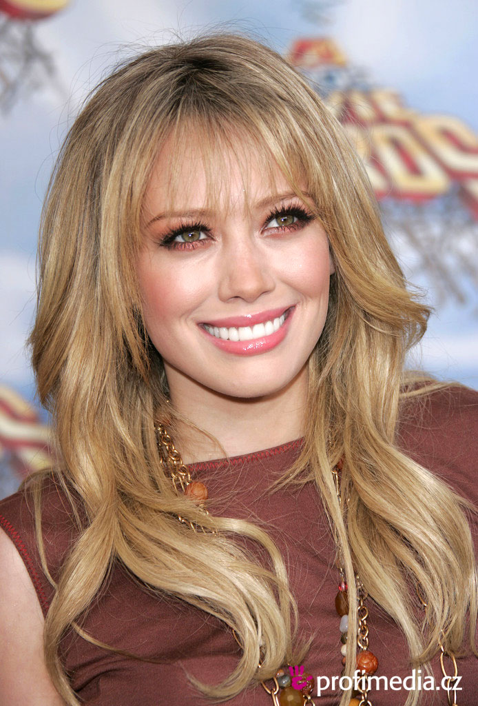 hilary duff hair. Hilary Duff