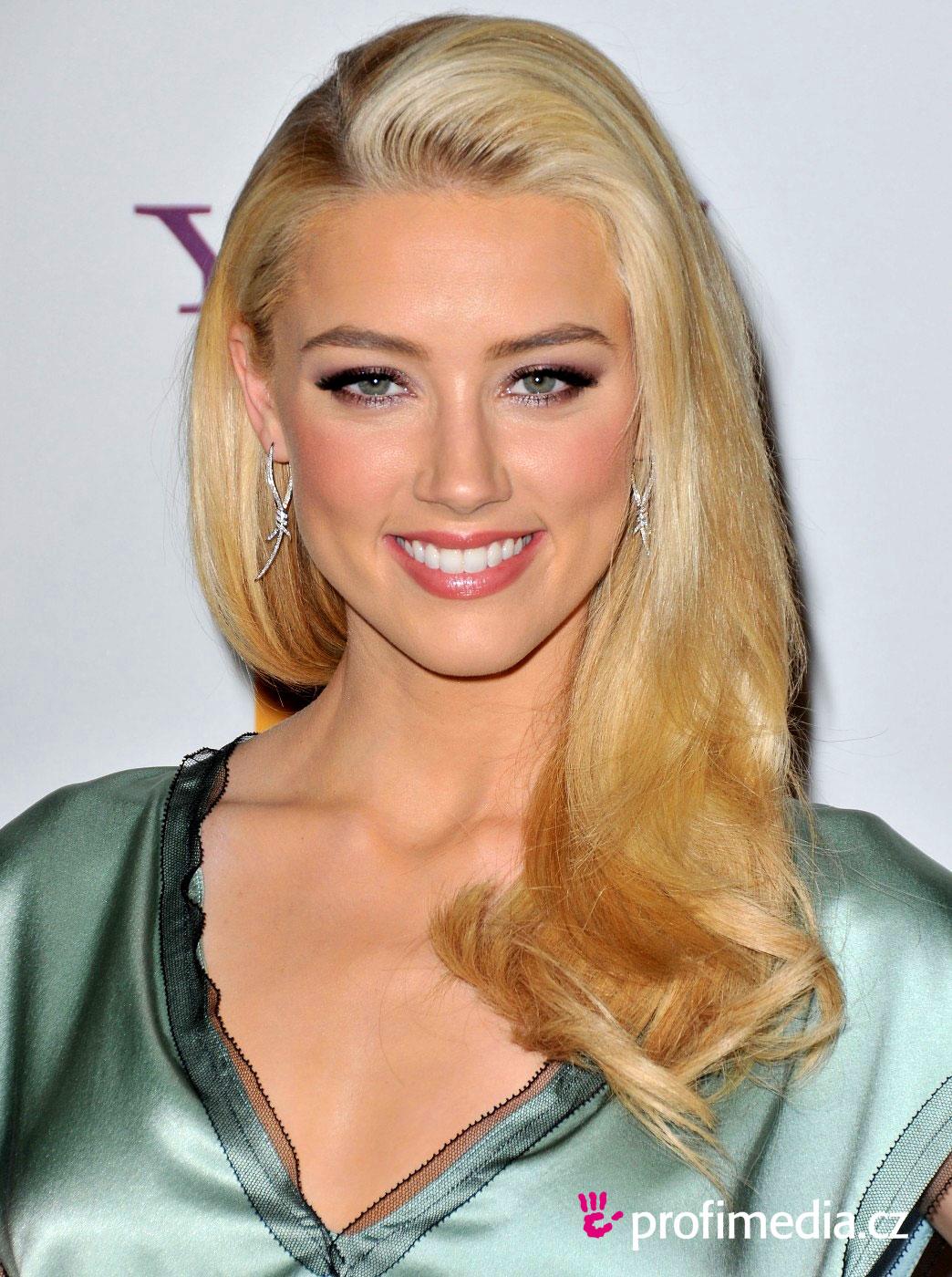 Amber Heard Hairstyle Easyhairstyler