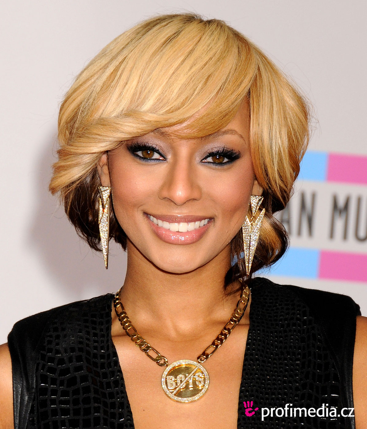 Awe Inspiring Keri Hilson Hairstyle Easyhairstyler Short Hairstyles For Black Women Fulllsitofus
