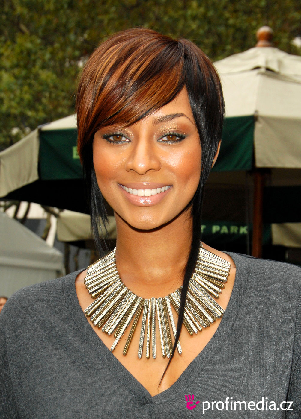 Awesome Keri Hilson Hairstyle Easyhairstyler Short Hairstyles For Black Women Fulllsitofus
