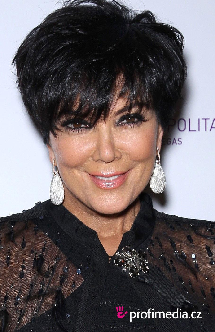 kris jenner short layered texturized haircut kris jenner hairstyle