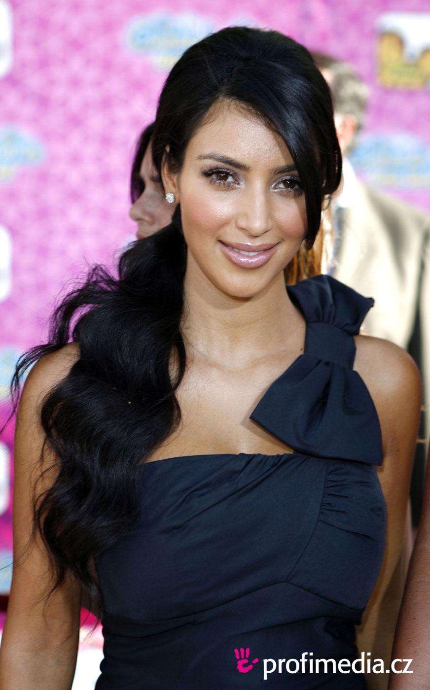 Prom hairstyle kim kardashian kim kardashian
