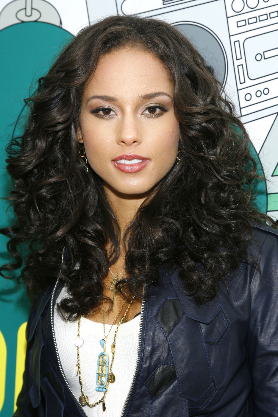Admirable 1000 Images About Alicia Keys On Pinterest Natural Curly Short Hairstyles Gunalazisus