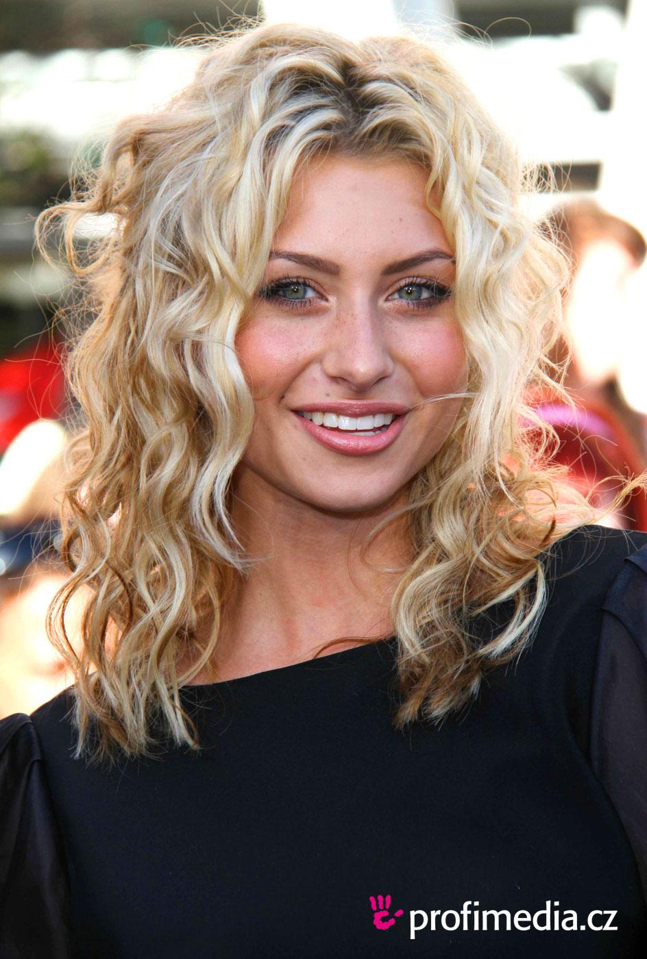 Peinado de - Aly Michalka - Aly Michalka