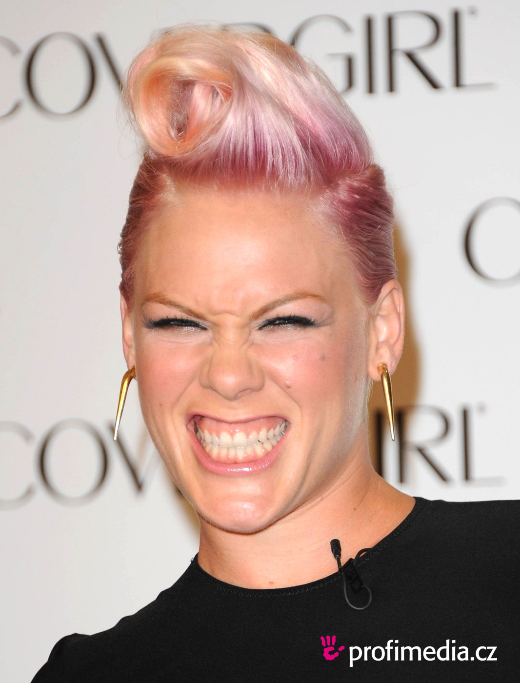 Tremendous Pink Hairstyle Easyhairstyler Short Hairstyles Gunalazisus