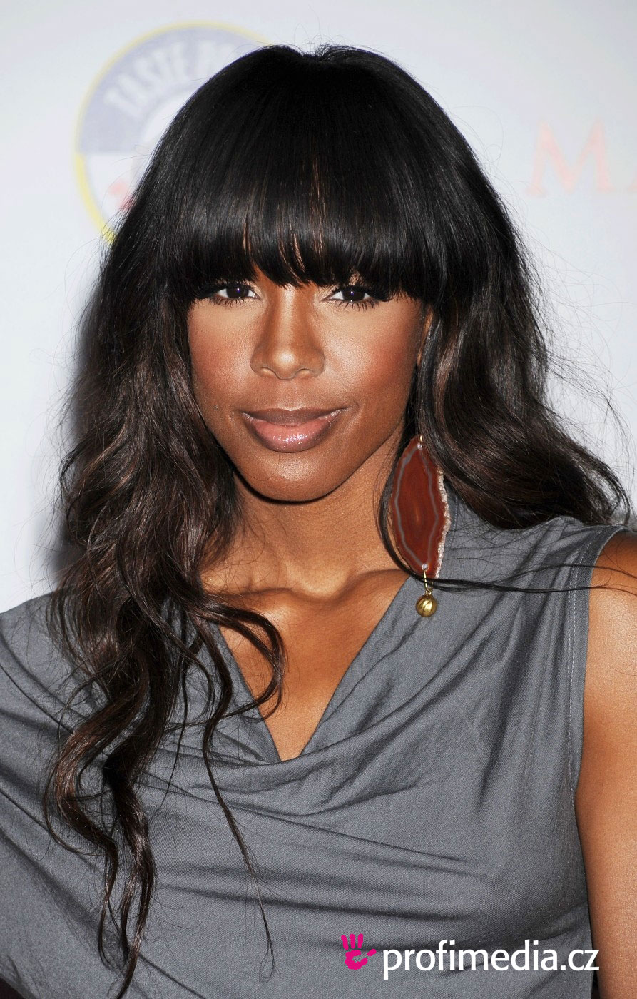 Prom hairstyle - Kelly Rowland - Kelly Rowland