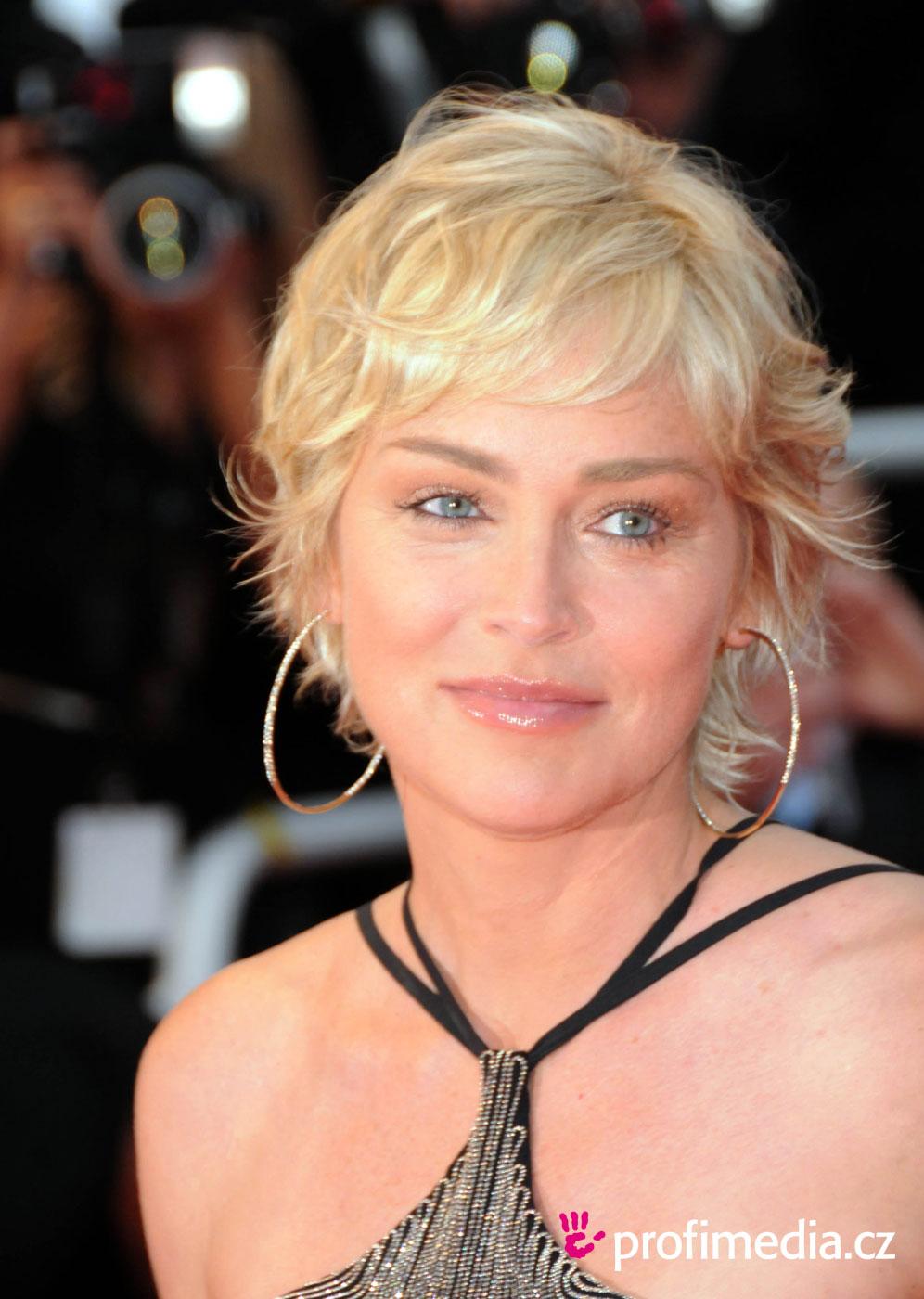 Prom hairstyle - Sharon Stone - Sharon Stone