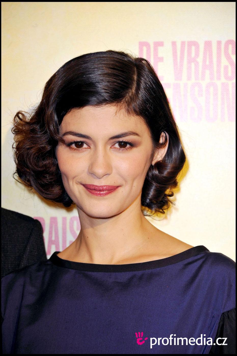 Audrey Tautou Haircuts