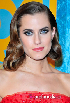 Peinados de famosas - Allison Williams