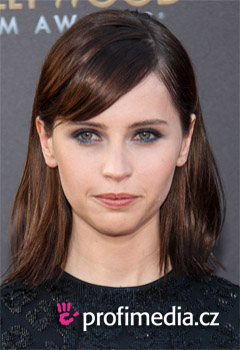Acconciature delle star - Felicity Jones