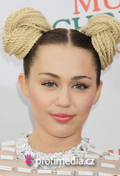 Acconciature delle star - Miely Cyrus