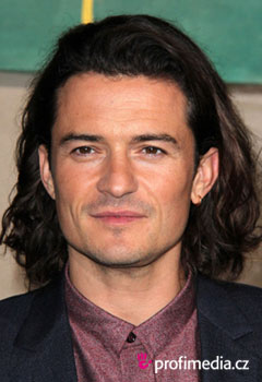 Promi-Frisuren - Orlando Bloom