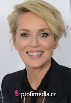 Promi-Frisuren - Sharon Stone