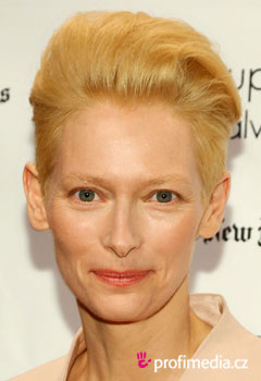 Acconciature delle star - Tilda Swinton