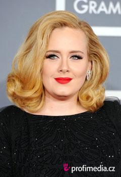 účes celebrity - Adele - Adele