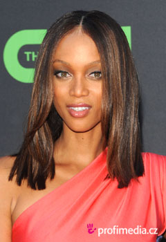 Acconciature delle star - Tyra Banks