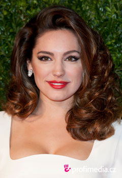Coiffures de Stars - Kelly Brook