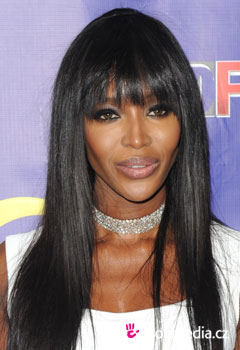 Acconciature delle star - Naomi Campbell