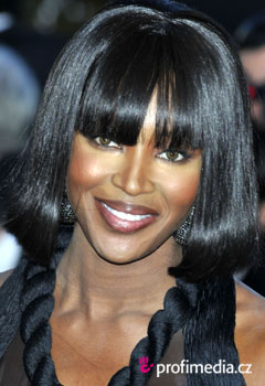 Coafurile vedetelor - Naomi Campbell