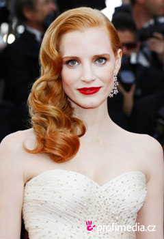 Coafurile vedetelor - Jessica Chastain