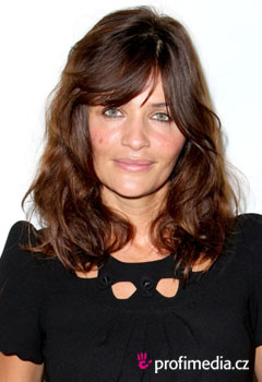 Acconciature delle star - Helena Christensen