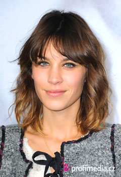 Coafurile vedetelor - Alexa Chung