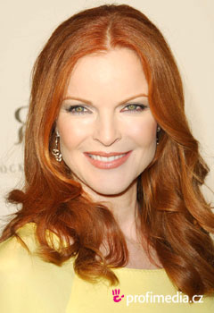 Acconciature delle star - Marcia Cross