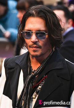 Acconciature delle star - Johny Depp