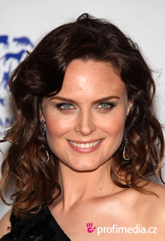 Promi-Frisuren - Emily Deschanel