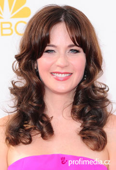 Acconciature delle star - Zooey Deschanel