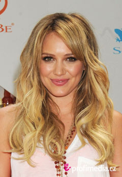 Promi-Frisuren - Hilary Duff