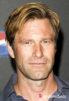 Acconciature delle star - Aaron Eckhart