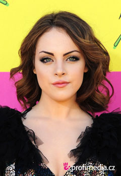 Acconciature delle star - Elizabeth Gillies