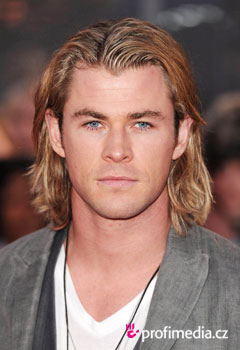 Účesy celebrit - Chris Hemsworth