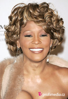 Peinados de famosas - Whitney Houston