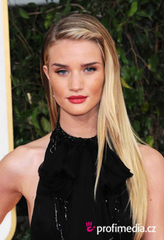 Acconciature delle star - Rosie Huntington