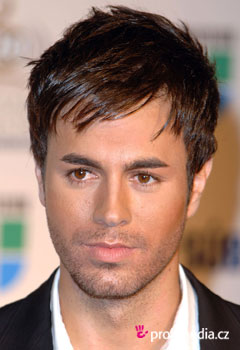 Enrique Iglesias Hairstyle on Prom Hairstyle   Enrique Iglesias   Enrique Iglesias