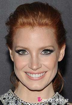 Coiffures de Stars - Jessica Chastain
