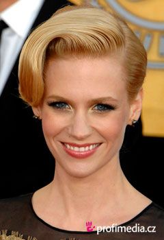 Acconciature delle star - January Jones