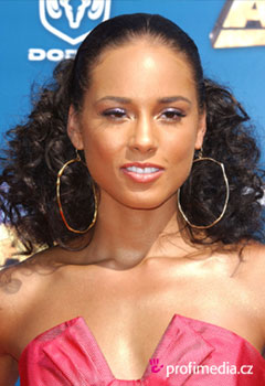 Acconciature delle star - Alicia Keys