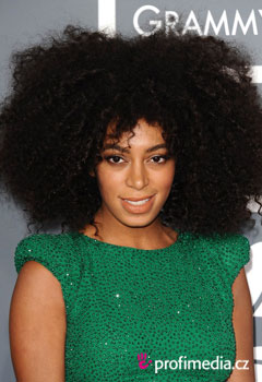 Acconciature delle star - Solange Knowles