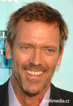 Acconciature delle star - Hugh Laurie