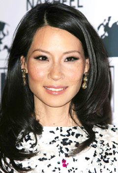 Coafurile vedetelor - Lucy Liu