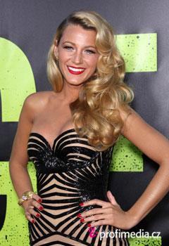 Acconciature delle star - Blake Lively
