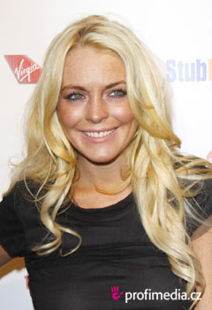 Acconciature delle star - Lindsay Lohan
