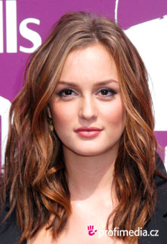 Coafurile vedetelor - Leighton Meester