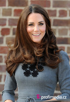 Acconciature delle star - Kate Middleton