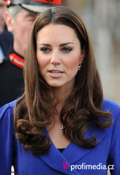 Účesy celebrit - Kate Middleton