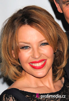 Promi-Frisuren - Kylie Minogue